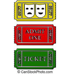 bilety, wypadek