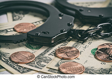 bilincs, képben látható, pénz