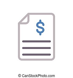 bill color line icon