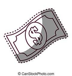 bill dollar money icon