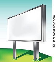 billboard, ao ar livre