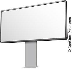 Billboard - Blank billboard illustration