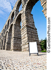 Acueducto in Segovia, Spain