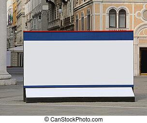 Billboard in City