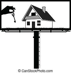 billboard - sell turnkey houses