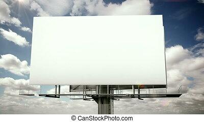 Billboard time lapse