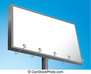 billboard, (vector)