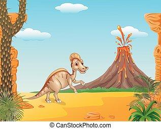 billed, hadrosaur, canard