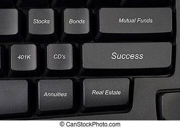 billentyűzet computer, opciók, befektetés