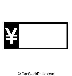 billet banque, yen