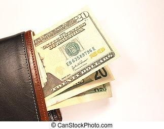 billetera, efectivo