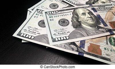 billets banque., dénombrement, vidéo, entiers, temps réel, ...