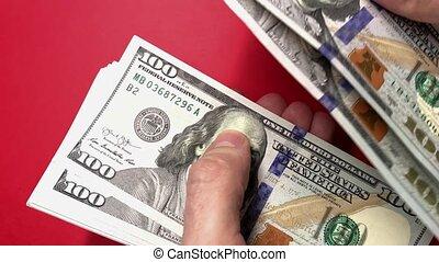 billets banque., dénombrement, vidéo, entiers, temps réel,...