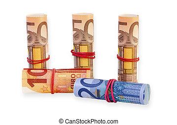 billets banque, euro