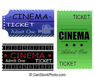 billets, cinéma