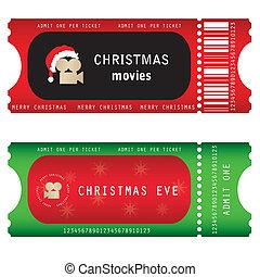 billetter, christmas eve