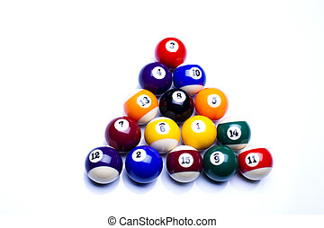 Billiard ball  - Billiard game