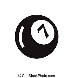 billiard ball eight icon