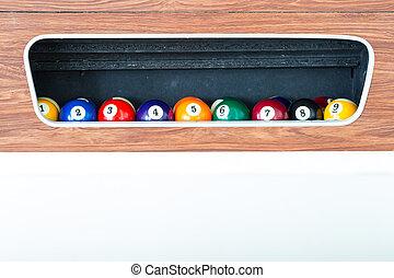 Billiard ball in the box
