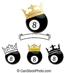 billiard ball number 8