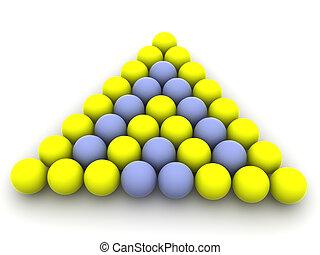 Billiard balls.