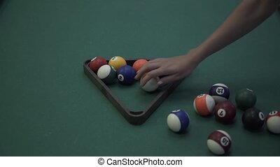 billiard balls arrangement watch 4k