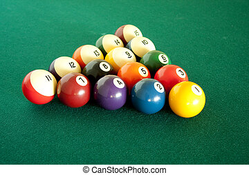 Billiard balls set