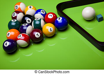 Billiard game - Billiard game