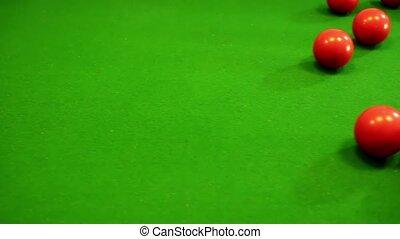 Billiard good shot