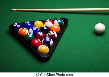 billiard, plano de fondo