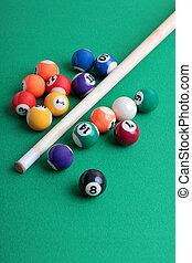 billiard, seis