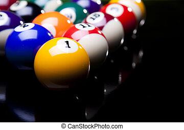 Billiards pool - Billiard game