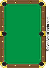 billiards table pool illustration