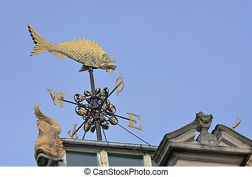 Billingsgate Fish weather vane