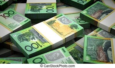 Billion New Zealand Dollar Background (seamless)