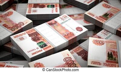 billion, rubles, achtergrond