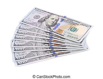 bills., ena hundra dollar