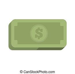 bills green money icon