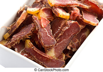 Biltong South-African Dried Meat Snack