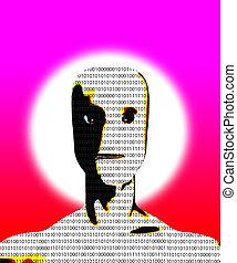 binário, inteligência artificial