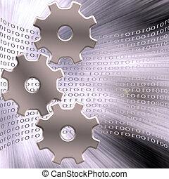 binär, utrustar