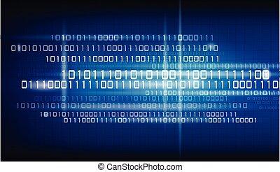 binärcode, hintergrund.