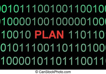 binäre daten, plan