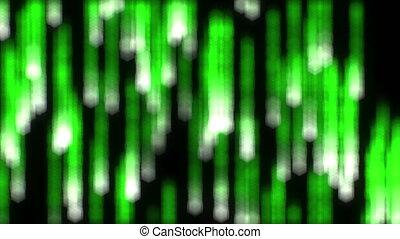 binärer, matrix, regen, schleife, verwischt