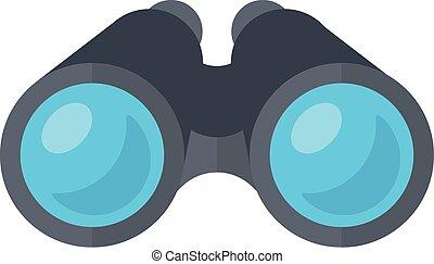 binóculos, espião, glasses.