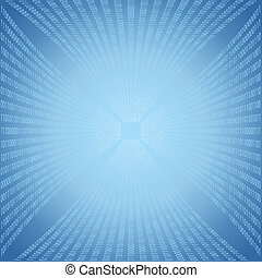 binair, abstract, code, achtergrond.