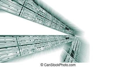 binaire gegevens, stroom
