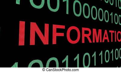 binaire gegevens, tekst, informatie