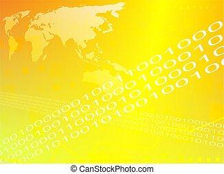 binaire, mondiale