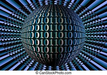 binaire, sphère